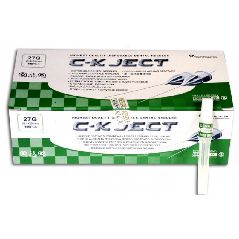 C-K JECT 27Gx25 M.SHORT (0,40*25mm)